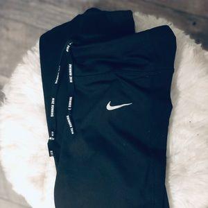 Nike Running Dri-Fit Crop Black Leggings